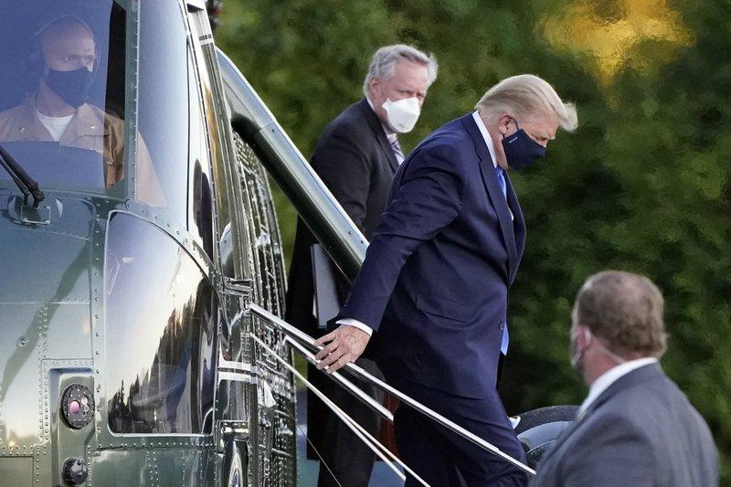 Analysis Trump faces credibility crisis over health scare