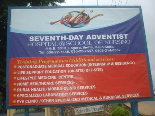 Seventh-Day Nursing School Suspends Students For Protesting Poor Feeding In Osun